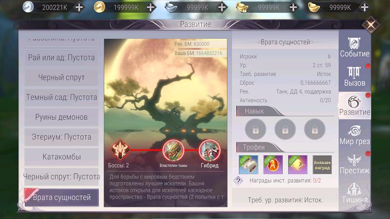 Подземелье «Врата сущностей» в Perfect World Mobile